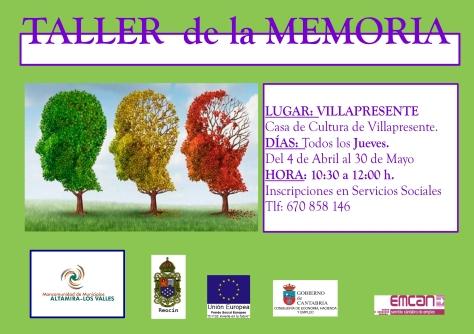 TALLER MEMORIA VILLAPRESENTE