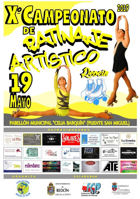 CARTEL FINAL PATINAJE ARTISTICO 19 MAYO 201970