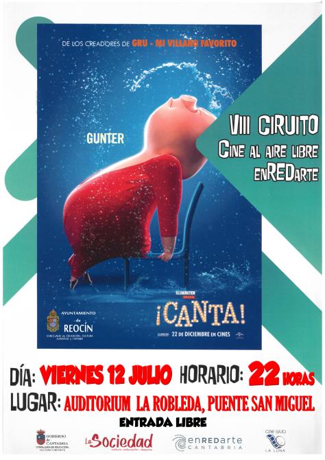 CINE DE VERANO 12 DE JULIO 2019