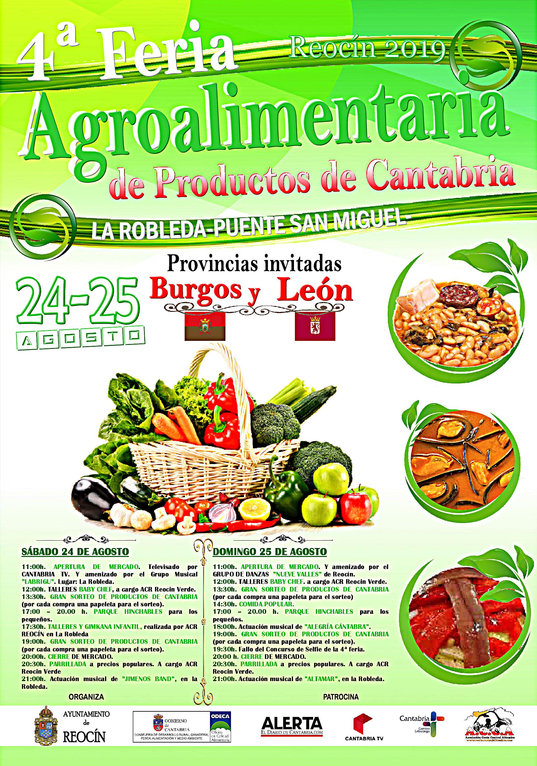 cartel feria agroalimentaria 2019