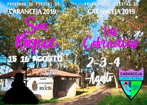 folleto programa fiestas caranceja 2019