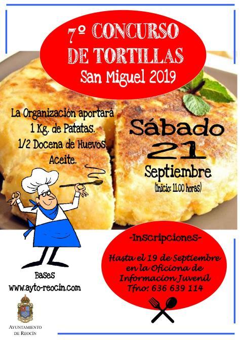 cartel concurso tortilla 2019