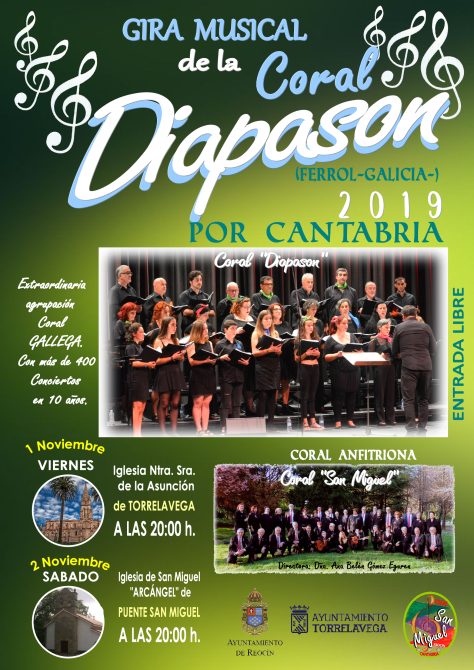 cartel gira musical noviembre 1-2 noviembre 2019