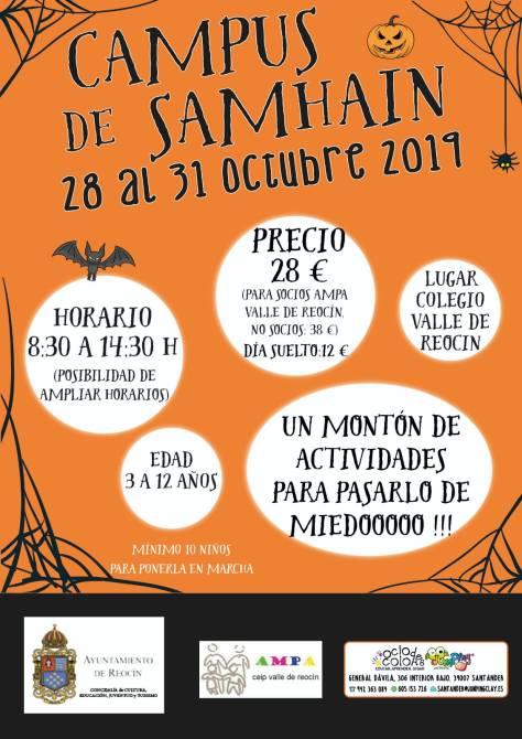 nuevo cartel campus ludoteca samhain 2019