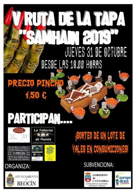 RUTA PINCHOS SAMHAIN 2019