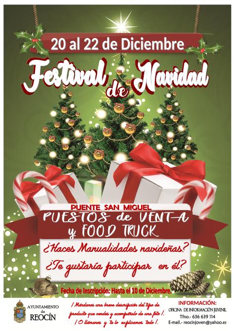 cartel festival de navidad puesto de venta 2019final