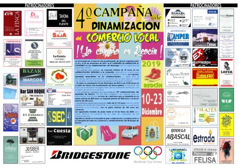 C ARTEL 4ªCAMPAÑADINAMIZACION COMERCIO LOCAL 2019