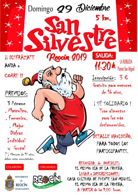 CARTEL BUENO SAN SILVESTRE 2019