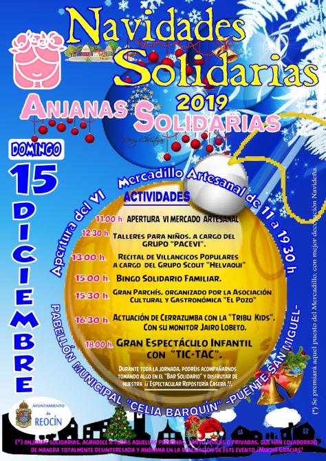 mercadillo navideños anjanas solidarias 15DIC2019