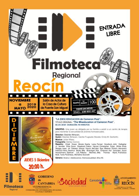 proyeccion film 5 de diciembre 2019
