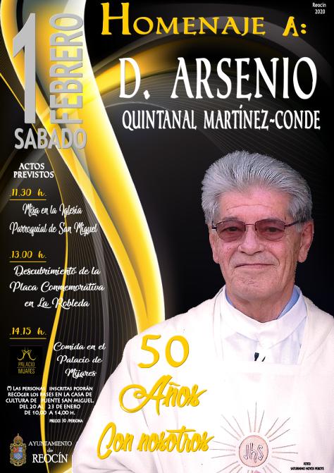 cartel 1 homenaje a ARSENIO