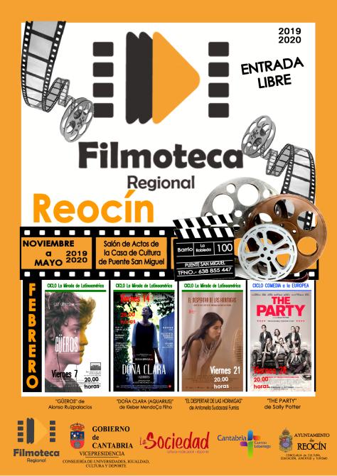 CARTEL FILMOTECA REOCIN FEBRERO2020